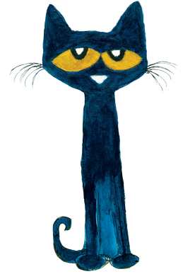 graphic about Pete the Cat Printable named Pete the Cat - HarperCollins Canada