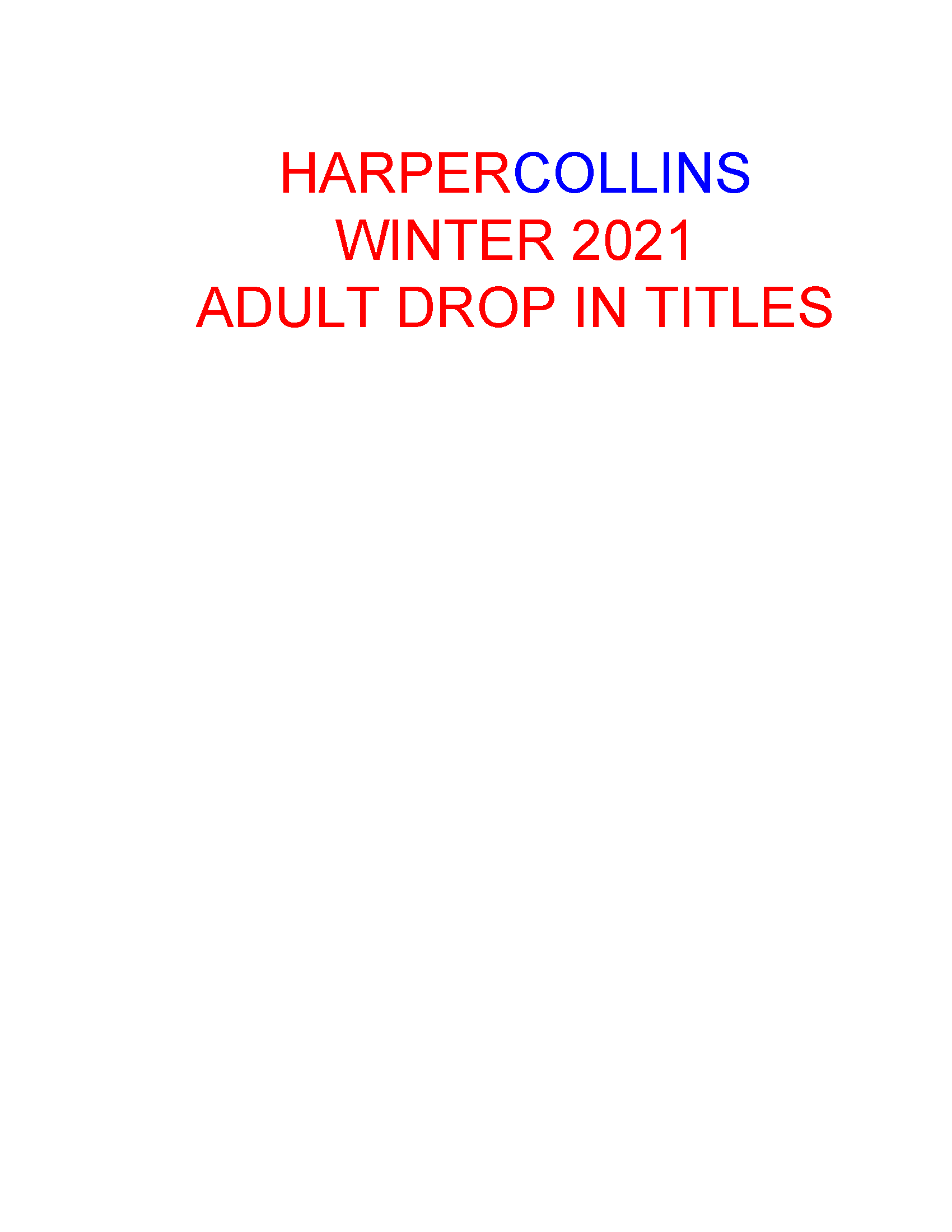 W21 COVER Adult Drop Ins (Oct 5)