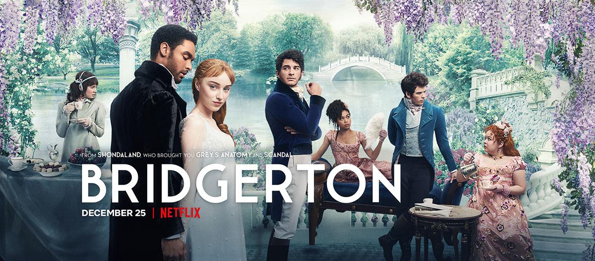 Bridgerton Footer