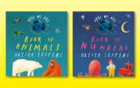Beautiful concept board books from beloved creator Oliver Jeffers!